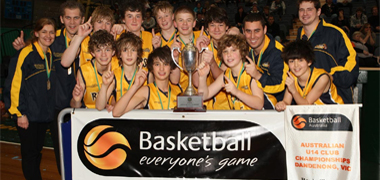 2009 U14 Boys Club Championships - Final Placings | Basketball Australia