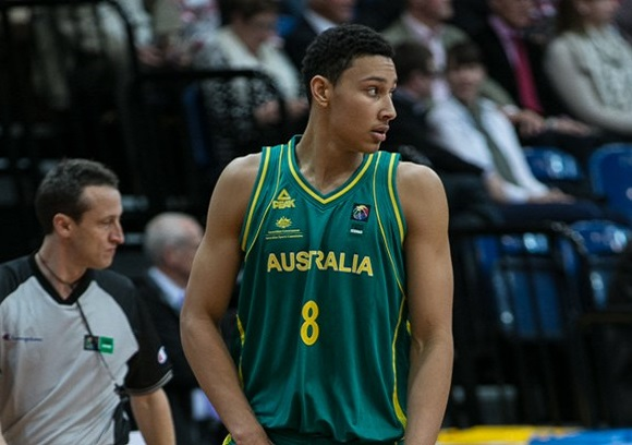 the latest ba542 e0390 BEN SIMMONS COMMITS TO BOOMERS FOR 2019 FIBA WORLD CUP ...