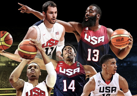 USA BASKETBALL ANNOUNCE 20-MAN SQUAD TO ATTEND FIBA WC TRAINING CAMP